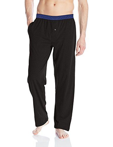 Hanes Men's X-Temp Knit Pant with Striped Elastic Waistband