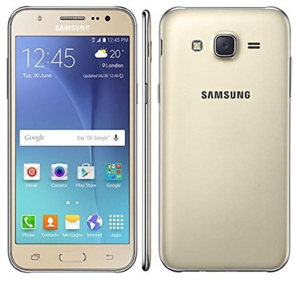 "Samsung Galaxy J7 SM- J700H/DS GSM Factory Unlocked Smartphone-Android 5.1- 5.5"" AMOLED Display- International Version (Gold)"