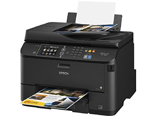 Epson WorkForce Pro WF-4630 C11CD10201 Wireless Color All-in-One Inkjet Printer with Scanner and Copier