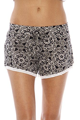 Just Love High Waisted Women Shorts - Summer Pom Pom Beach Shorts